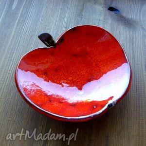 hand-made ceramika miseczka - jabłuszko