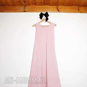 pimage handmade długa sukienka ciążowa, sukienka, ciąża, długa, naturalna