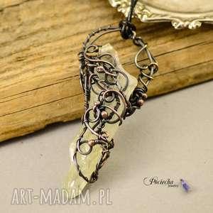 Prezent Crystal amulet - naszyjnik z kryształem górskim o wyjątkowej barwie