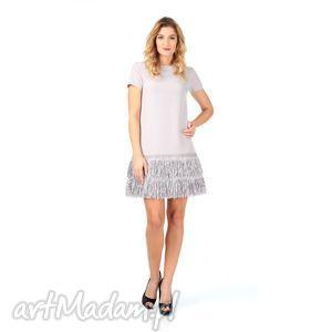 38kr - sukienka z frędzlami, lalu, sukienka, impreza, frędzle, sylwester