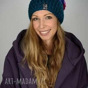oryginalny prezent, laczapakabra czapka tricolour 07, czapa, kolorowa, snowboard