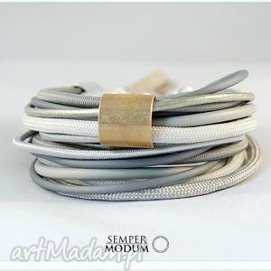 bransoletki pastelowe s ii, prezent, bransoletka, sznurki, handmade, casual biżuteria