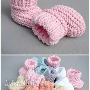 zamówienie p agnieszki, buciki, skarpetki, bawełniane, niemowlę, prezent buciki