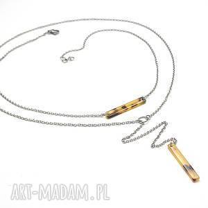 hand made naszyjniki alloys collection -stick -panterka /12 -04 -19/