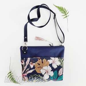 handmade na ramię listonoszka roślinna
