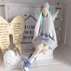 fabryqaprzytulanek anioł tilda na chrzest święty duży modlitwa, anioł