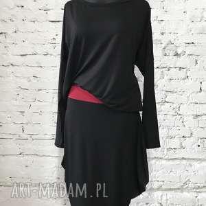 Black Moon-sukienka z limitowanej kolekcji, elegancka-sukienka, folk-sukienka