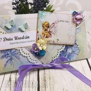 hand-made scrapbooking kartki kartka z okazji urodzin (k26)