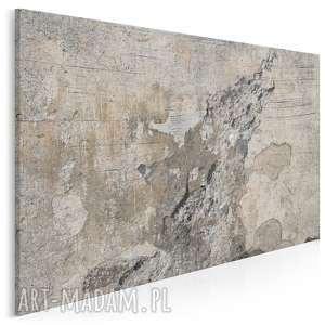 obraz na płótnie - abstrakcja beton 120x80 cm (20101)