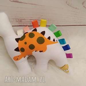 hand made zabawki dinozaur - sensorek