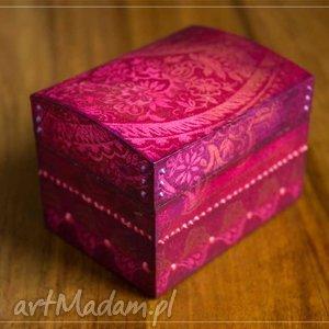 prezent na święta, pudełeczko skarby, pudełko, drewno, decoupage, orientalne