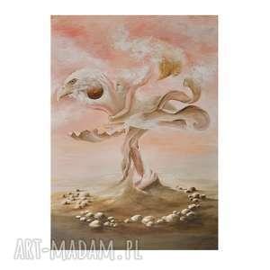expugno invidia, oryginalny obraz ręcznie malowany, surrealizm, obraz, autorski