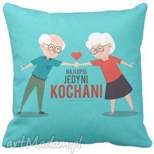 Poduszka na dzień babci i dziadka prezent kochani dziadkowie