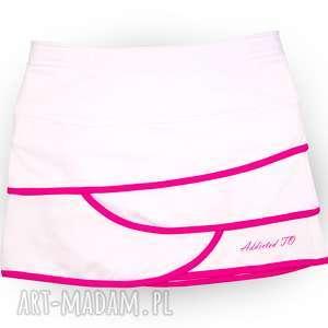 handmade sportowa spódniczka z izolującego materiału