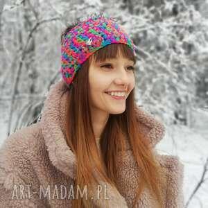 ręcznie wykonane opaski opaska na włosy, headband, turban