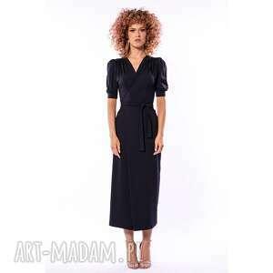 milita nikonorov kelly black - sukienka, uniwersalna, ponadczasowa, elegancka