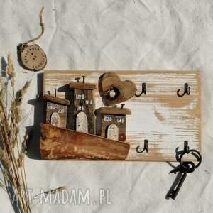 wieszaki rustykalny wieszak na klucze, dom domek, klucze