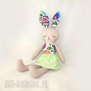 patchworkmoda lala przytulanka króliczka helena,46cm, królik, króliczek