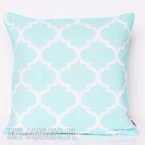 Poduszka fresh mint 50x50cm od majunto poduszki poduszka, mięta