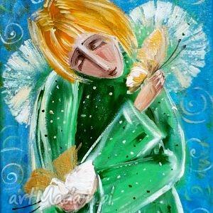 obrazy skrzydła czułości, anioł, aniołek, anioły, motyle, 4mara dom