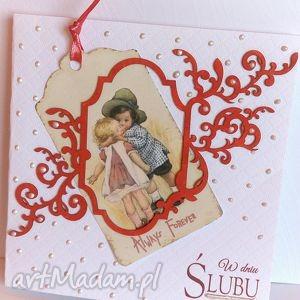 W dniu ślubu - kartka na ślub - ,kartka,ślub,wesele,