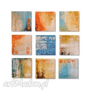 obrazy abstrakcja w9, nowoczesny obraz ręcznie malowany, abstrakcja,