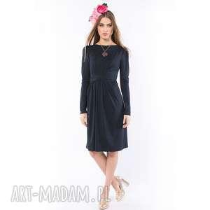 Dobra Wróżka - sukienka modelująca sylwetkę, sukienka, dzianinowa, wyszczuplająca