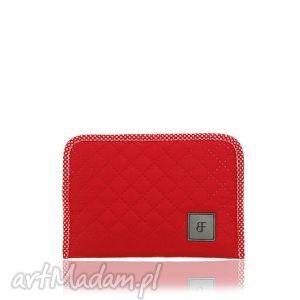 kosmetyczka simple color 193 czerwona, etui, saszetka
