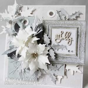 mroźna kartka w pudełku - życzenia, ślub