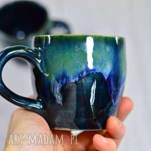 Handmade espresso kubek ceramiczny z koniem storm 275 ml