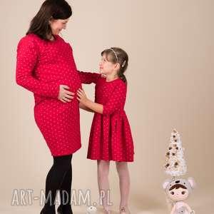 pomysł na prezent Komplet sukienek Gwiazdka 2, komplet, ciążkowa, gwiazdki, świeta