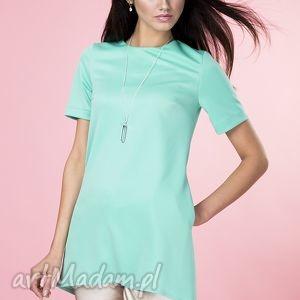 Tunika z kieszeniami mint, tunika, bluzka, asymetryczna, wygodna, elegancka