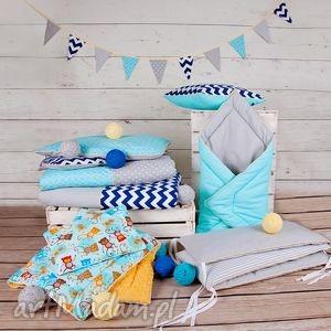 handmade pokoik dziecka pościel dziecięca turkusowe lato