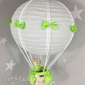 Lampa LaMaDo Latający Miś Polski Handmade, lampa, wisząca, latający, miś
