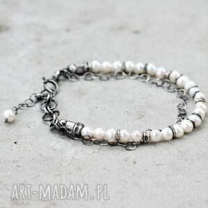 perełkowa bransoletka, perła, bransoletka z pereł, na prezent, perły, elegancka