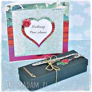 handmade scrapbooking kartki urodzinowy zestaw prezentowy
