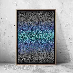 unikalny prezent, plakaty plakat 50x70cm, plakat, obraz, abstrakcja, ściana, wnętrze