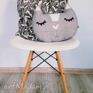 kocia poduszka - ,poduszka,dekoracyjna,kot,kociarz,cat,lady,
