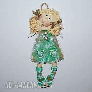 hand made pokoik dziecka gabrysia jest fajna - aniołek z masy solnej