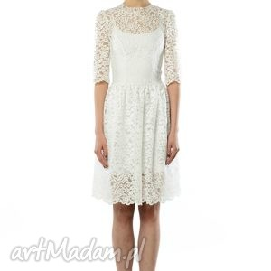 ręcznie wykonane ślub olivia - koronkowa sukienka