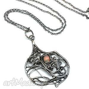 finezz - wisior, biżuteria, srebro, opal, hajcz