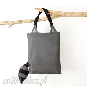 bawełniana torba - szopperka, szop, shopperka, torba, bawełniana, zwierzę, ogon