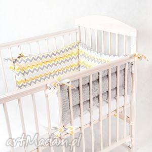 ochraniacz 3 częściowy minky, ochraniacz, łóżeczka pokoik dziecka