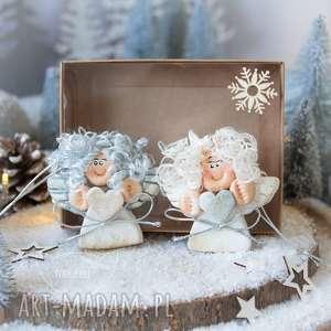 para świątecznych aniołków na zawieszce boże narodzenie, aniołki, ozdoby