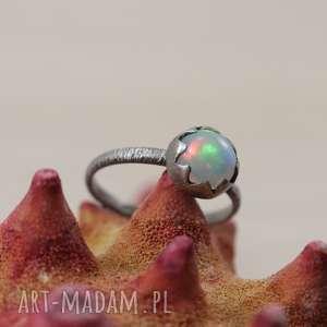 Opal z Etiopii i srebro - pierścionek 2799, opal, opal-z-etiopii, srebrny-pierścionek