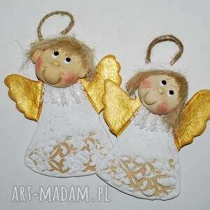 Pomysł na upominek święta! Ja i mój brat - aniołki dekoracje