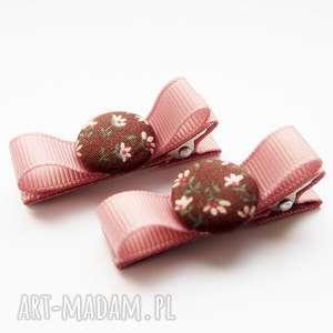 handmade ozdoby do włosów spinki kokardki kolekcja sophie