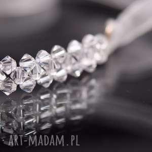 Kryształowa opaska, swarovski, kryształ, ozdoba, ślub