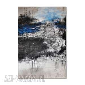 tierra el hielo 3, abstrakcja, nowoczesny obraz ręcznie malowany