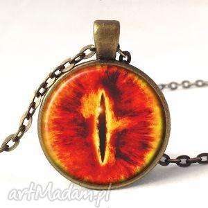 oko saurona - medalion z łańcuszkiem - oko, saurona, władca, pierścieni